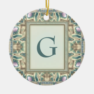 Mother of Pearl Christmas Tree Ornament