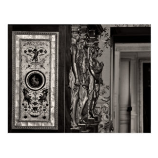 Mother of pearl panel, Château Versailles Postcard