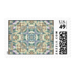 Mother of Pearl Postage Stamp