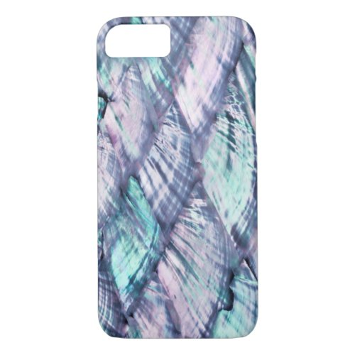 MOTHER OF PEARL Purple Print Barely There iPhone 7 Phone Case