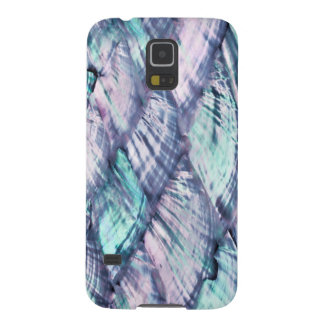MOTHER OF PEARL Purple Print Samsung Galaxy 5 Case