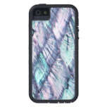 MOTHER OF PEARL Purple Print Tough Xtreme iPhone 5 iPhone 5 Case
