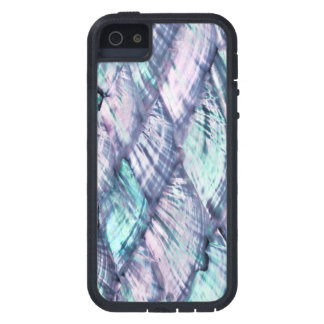 MOTHER OF PEARL Purple Print Tough Xtreme iPhone 5 Case For iPhone 5