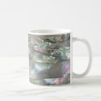 MOTHER OF PEARL Red Abalone Print Mug