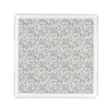 stylish_home Mother of Pearl Style. Acrylic Tray