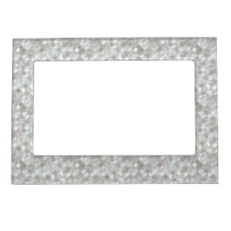 Mother of Pearl Style. Magnetic Photo Frame