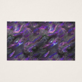 Mother Of Pearl Texture Purple Photo Pattern Business Card