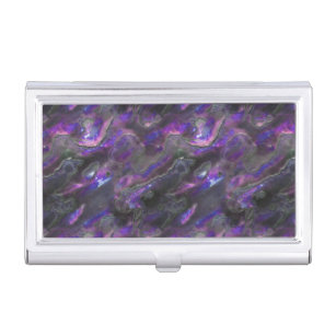 Mother pearl business card holders cases zazzle mother of pearl texture purple photo pattern case for business cards colourmoves