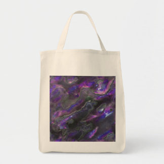 Mother Of Pearl Texture Purple Photo Pattern Tote Bag