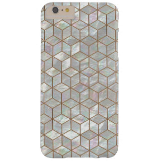Mother Of Pearl Tiles Barely There iPhone 6 Plus Case