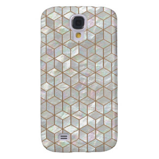 Mother Of Pearl Tiles Galaxy S4 Cover
