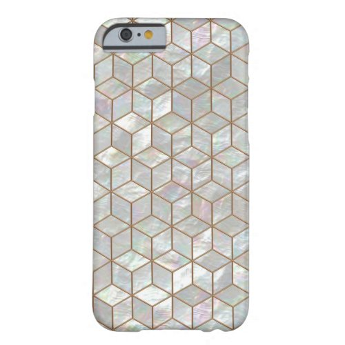 Mother Of Pearl Tiles Phone Case