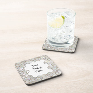 Mother Of Pearl Tiles Frame Drink Coasters