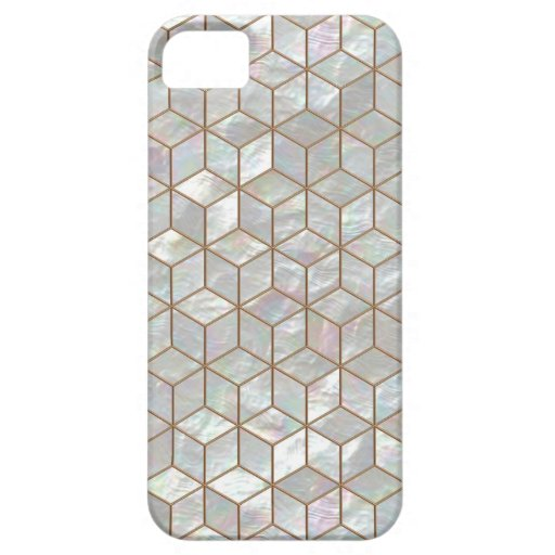 Mother Of Pearl Tiles iPhone 5/5S Case