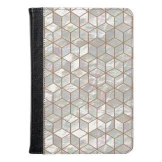 Mother Of Pearl Tiles Kindle Case