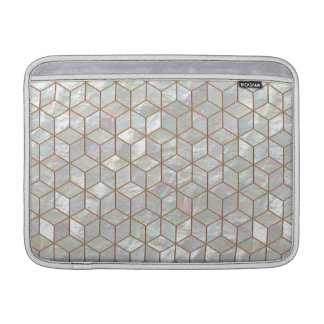 Mother Of Pearl Tiles MacBook Sleeve