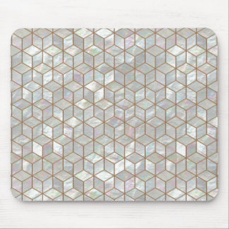 Mother Of Pearl Tiles Mouse Pad