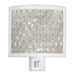 Mother Of Pearl Tiles Night Light
