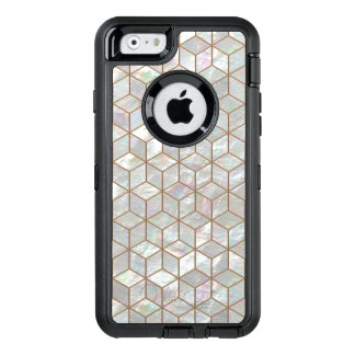 Mother Of Pearl Tiles OtterBox Defender iPhone Case