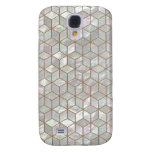 Mother Of Pearl Tiles Samsung Galaxy S4 Case