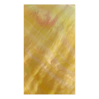Mother of pearl tones gold business card