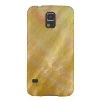 Mother of pearl tones gold galaxy s5 cover