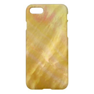 Mother of pearl tones gold iPhone 7 case