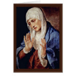 Mother Of Sorrows By Tizian Greeting Cards