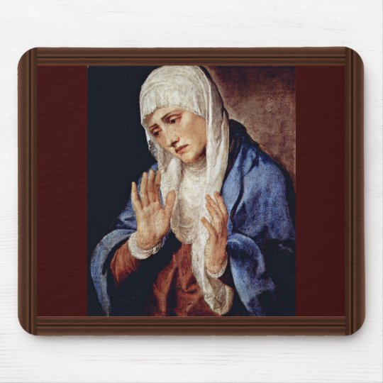 Mother Of Sorrows By Tizian Mouse Pad