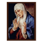 Mother Of Sorrows By Tizian Postcard