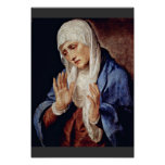 Mother Of Sorrows By Tizian Print