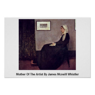 Mother Of The Artist By James Mcneill Whistler Print