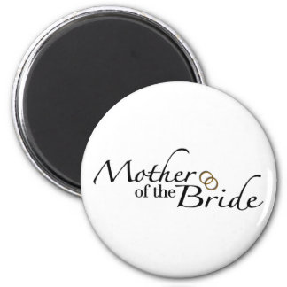 Mother Of The Bride 2 2 Inch Round Magnet