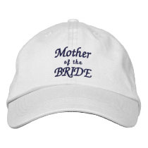 Mother of the Bride Adjustable Hat