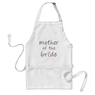 Mother of the Bride Aprons
