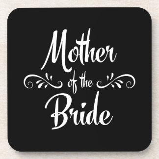 Mother of the Bride Beverage Coaster