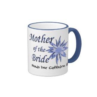 Mother of the Bride Blue Coffee Mug
