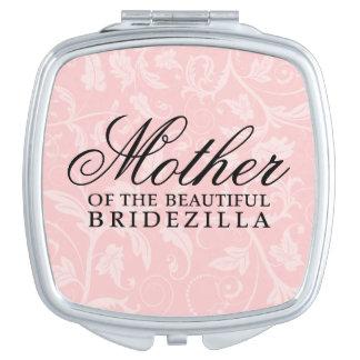 Mother of the Bride / Bridezilla Wedding Gift Compact Mirror