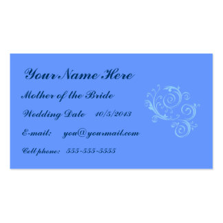 Mother of the Bride Business Card