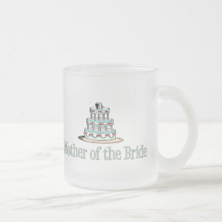 Mother Of The Bride (Cake) Frosted Glass Coffee Mug