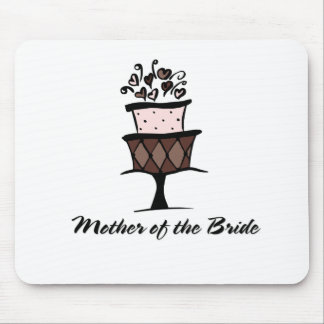 Mother of the Bride Cake Mouse Pad
