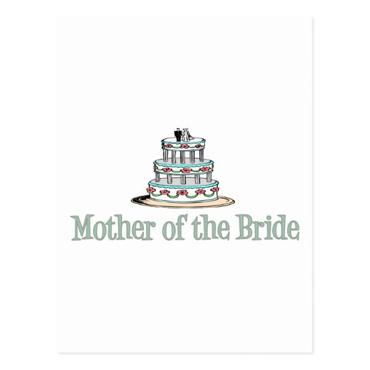 Mother Of The Bride (Cake) Postcard