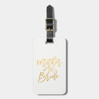 Mother of the Bride/Calligraphy Travel Luggage Tag