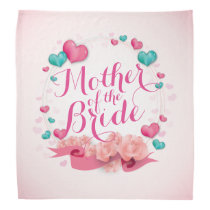 Mother of the Bride Candy Hearts Bandana