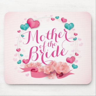 Mother of the Bride Candy Hearts | Mousepad