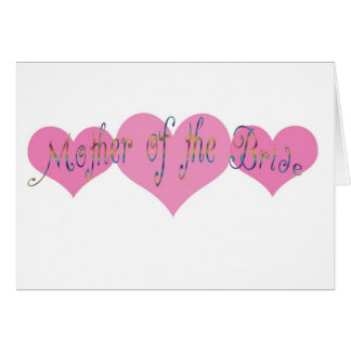 Mother of the Bride Cards