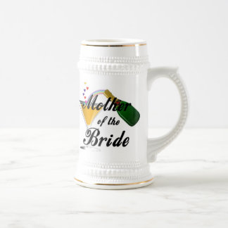 Mother Of The Bride Champagne Toast Beer Stein