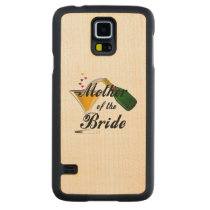 Mother Of The Bride Champagne Toast Carved Maple Galaxy S5 Case