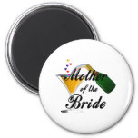 Mother Of The Bride Champagne Toast Fridge Magnets