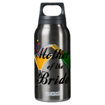 Mother Of The Bride Champagne Toast Insulated Water Bottle